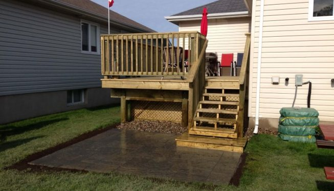 Kingston Small Deck Patio Build